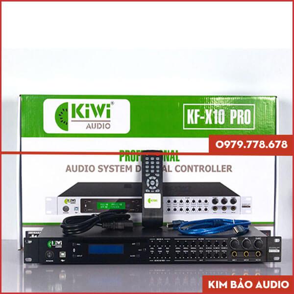 Vang số chỉnh cơ Kiwi KF X10 Pro
