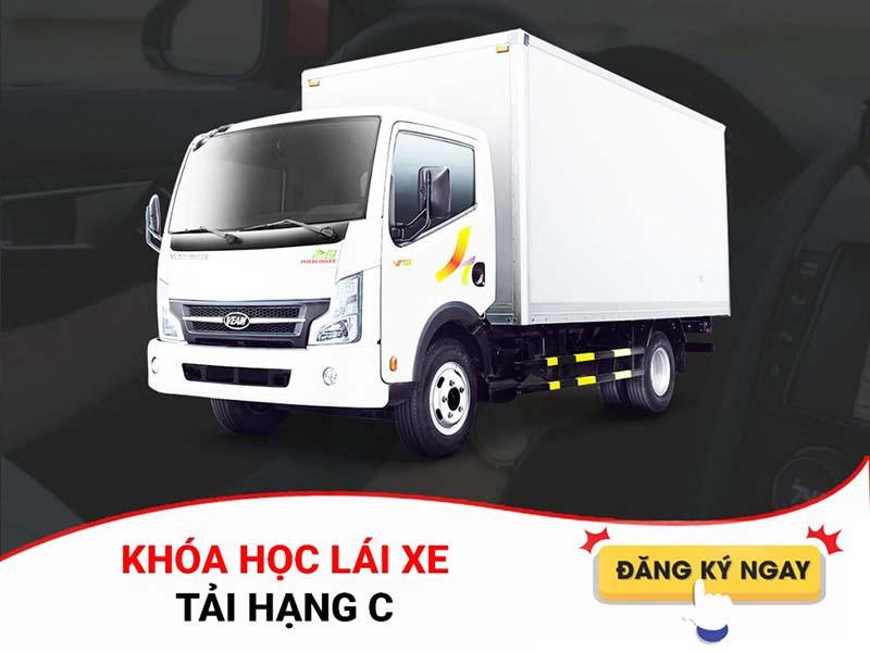 Khóa học lái xe tải hạng C