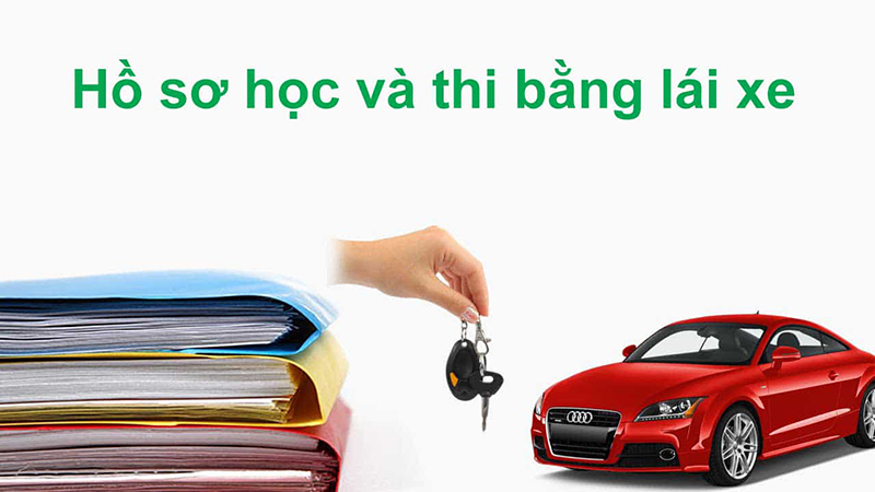 Hồ sơ học và thi bằng lái xe ô tô
