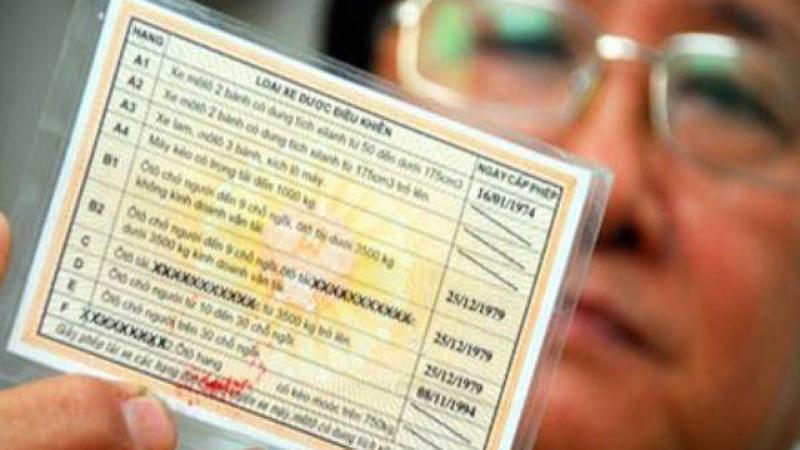 Hồ sơ nâng dấu bằng lái xe