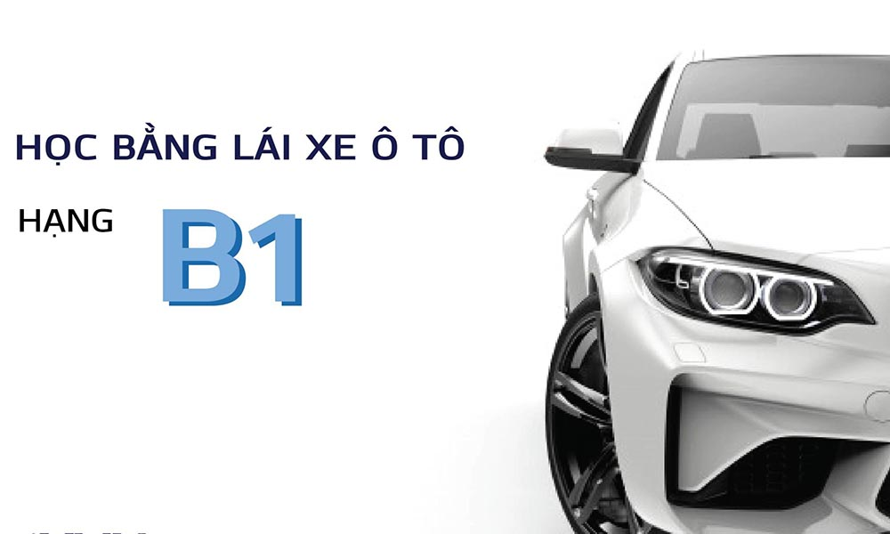 Dạy học bằng lái xe B1