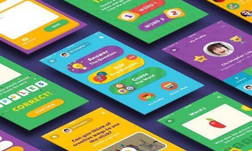 Phát triển ứng dụng dành cho trẻ em