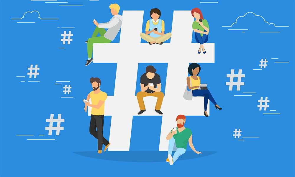Sử dụng hashtag hợp lý